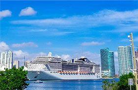 Puertos de crucero internacional